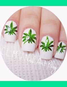 Weed Nail Designs ...   Nail Designs   Pinterest   Weed, Nails and ...