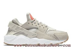 competitive price 4d79b f7789 Nike Air Huarache (Air Urh) Run TXT Light Bone 818597-001 Chausures Nike