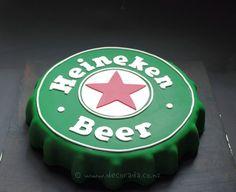 heineken beer cake - Google Search