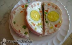 Érdekel a receptje? Kattints a képre! Cold Dishes, Naan, Pudding, Eggs, Cooking, Breakfast, Desserts, Food, Christmas