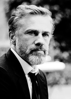 Christoph Waltz photographed by Peter Lindbergh
