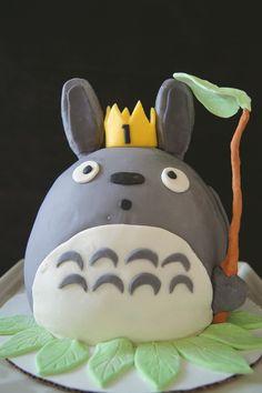 Totoro cake. Studio Ghibli
