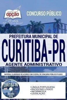Apostila Concurso Prefeitura De Curitiba 2019 Pdf E Impressa Com