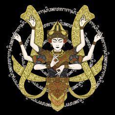 Careers Aesthetic Desktop Wallpaper, Indonesian Art, Graphic Art, Graphic Design, Arm Sleeve Tattoos, Dream Tattoos, Amai, Dandy, Buddha