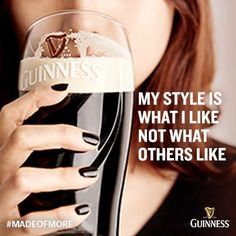 My Guinness style