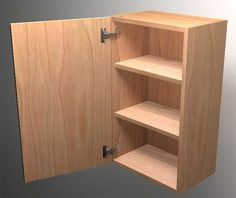 How To Build Frameless Wall Cabinets | Tom Builds Stuff