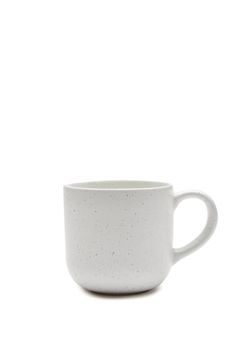 Taking a 'less is more' approach, the Fern Ceramic Mug will have you waking up on the sunny side every morning! Features a simple and understated design, with speckle glazing that is irresistibly modern. <br /><br />  STONEWARE<br /> 9cm x 9cm<br /> Dishwasher Safe<br /><br /> Less Is More, Ferns, Crib, Stoneware, Glaze, Kitchen Dining, Dishwasher, Take That, Ceramics