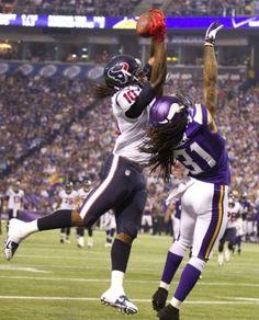 WR DeAndre Hopkins catches TD pass, Preseason 2013 Texans vs Vikings