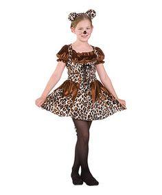 Girls Leopard Costume   Girls Halloween Costumes   Pinterest ...