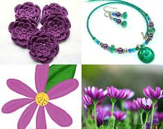 Purple Springtime by Janet Amelia on Etsy--Pinned with TreasuryPin.com