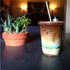 Caramel macchiato, Chapman Coffee House #coffee #IHeartOnTheHunt #OldTowneOrange