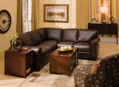Marsala 2-pc. Leather Sectional Sofa | Sectional Sofas | Raymour and Flanigan Furniture & Mattresses