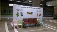 IKEA unconventional ads at the subway [March 2014]