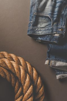 Editorial product photography for a line of jeans.