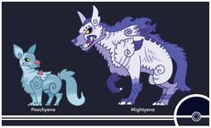 Pokemon #261-262 by Cosmopoliturtle