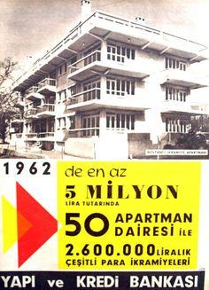 OĞUZ TOPOĞLU : 1962 de en az beş milyon lira tutarında elli apart...
