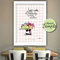 Lilipops - Poster - Instant Download - Printable - Kawaii - Quote Print - Printable - Wall Art - Inspirational Quote - Humor - Fun - Cute