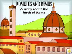 Romulus and Remus PPT Rome Activities, History Activities, Teaching Latin, Teaching History, Ancient Rome, Ancient History, Romans For Kids, Social Studies For Kids, Romulus And Remus