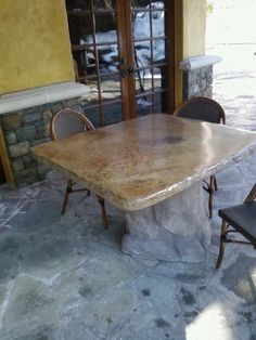 Concrete Counter Tops and Tables