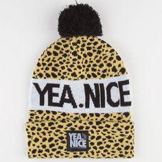 online store 1c99d b3e6e NICE Pom Beanie - CHEET - 24-66