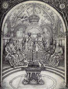 Johfra Bosschart - Alchemische bruiloft C.R.C.: De drie Koninklijke paren (September 4, 1968)