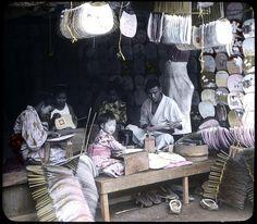 THE FAN SHOP -- Uchiwa Heaven in Old Japan by Okinawa Soba, via Flickr