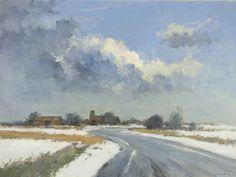 """Ian Houston """"Morston in Winter"""", Norfolk"""