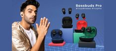 pTron Bassbuds Pro carry an ergonomic design and offer a premium look. These are lightweight and feature an ultra-mini ergonomic design. Tab to read review. Wireless Charging Pad, Wireless Earbuds, Ear Cap, Gadget Review, Sweat Proof, Noise Cancelling, Wireless Headphones