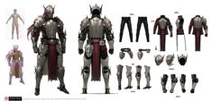 BLESS WORKS : 네이버 블로그 Character Sheet, Game Character, Character Concept, Character Reference, Halo Cosplay, Fantasy Character Design, Character Design Inspiration, Knight Art, Game Concept Art