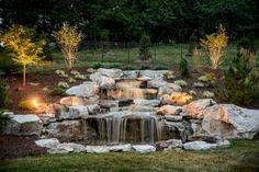 Graceful backyard waterfall ideas on a budget (63)