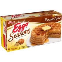 Walmart: Kellogg's Eggo Seasons Limited Edition Pumpkin Spice Waffles, 8 count {I need to buy these in bulk to prepare for when they go out of season!}
