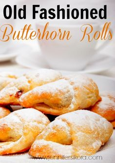 Old fashioned butterhorn rolls are perfect for any meal. These are easy to make and remind me of crescent rolls. Makes a large batch. You can just freeze what you don't use.