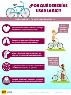 ¿Por qué deberías usar la bici?