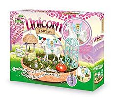 Interplay My Fairy Garden Unicorn Garden Grow and Play Set Unicorn And Fairies, Tinkerbell Fairies, Magical Unicorn, Beautiful Unicorn, Beautiful Fairies, Unicorn Gift Bags, Dinosaur Garden, Imagination Toys, My Fairy Garden