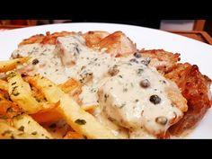 (3) Sült csirke zöldbors mártással @Szoky konyhája - YouTube Mashed Potatoes, Eggs, Chicken, Meat, Breakfast, Ethnic Recipes, Youtube, Food, Whipped Potatoes