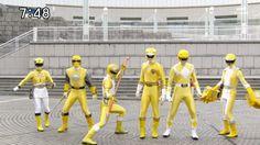 Gokaiger All Yellow Change