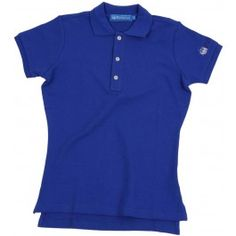 Ladies Plain Polo Shirt - Royal Blue £65.00- Complete with lock stitched Polistas branded buttons and our traditional classic feminine fit, this 100% cotton pique twill weave polo is the epitome of classic polo style. The Plain Polo is casual enough for the house and stylish enough for the polo field; whether your competing or cheering on your favourite team.