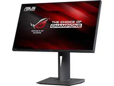 "ASUS ROG PG279Q Black 27"" WQHD IPS 2560X1440,  NVIDIA  G-Sync Gaming Monitor, 165 Hz refresh Rate, Slim Bezel Design with HDMI USB Ergonomic EyeCare  Technology"