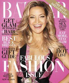 Harper's Bazaar US December 2015 - January 2016