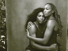 Tennisspielerinnen Serena und Venus Williams, Palm Beach, Florida, 2016.