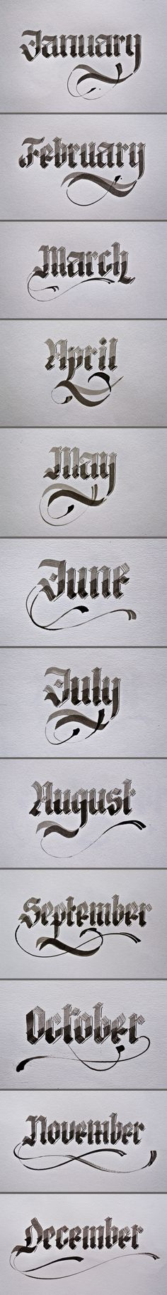 Calligraphy by Renato Molnar, via Behance. @Frances Durham Sylvia Durham Sylvia Durham Sylvia Durham Sylvia Doyle, this made me think of you!