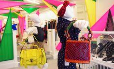 LOOK 1 - Proenza Schouler PS1 Medium Bag $1,695.00   LOOK 2 - Jennifer Behr Silk Rose Turban $550.00 || Kenzo Small Shoulder Bag $548.00