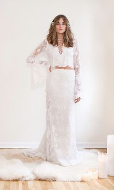Trendy Wedding Dresses  :    8 Gorgeous (And Wearable!) Wedding Dress Trends for 2016 |Annie Cavallo | Bridal Musings Wedding Blog  - #Dress https://youfashion.net/wedding/dress/trendy-wedding-dresses-8-gorgeous-and-wearable-wedding-dress-trends-for-2016-annie-cavallo-bridal-2/