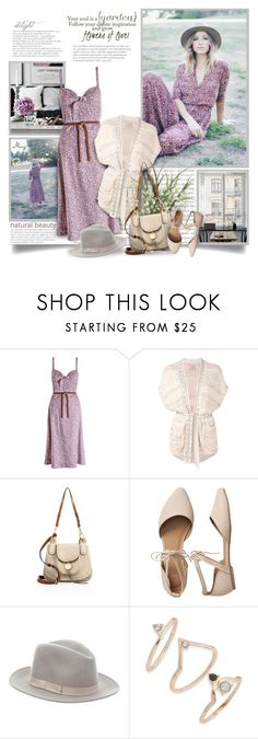 """Garden Soul"" by thewondersoffashion ❤ liked on Polyvore featuring Zimmermann, Laneus, See by Chloé, Gap, Eugenia Kim and Topshop"