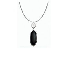Kit Heath Silver Grecian Necklace * Silver With Black Agate * Reference * All Kit Heath Products Arrive In Branded Packaging Platinum Engagement Rings, Black Agate, Beautiful Gifts, Wedding Anniversary Gifts, Silver Necklaces, Fathers Day Gifts, Diamond Rings, Watches For Men, Packaging