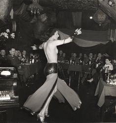 Roger Schall German Officers at the Cabaret Shéhérazade, Nazi Occupied Paris 1940