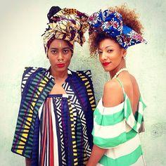Love these two amazing women!! @projecttribe @thebazaarbohemian Designer : @chichiagram