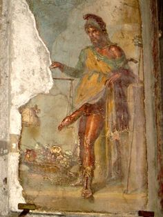 Wall Painting of Priapus, House of the Vetti