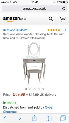 Dressing table Dressing Table Set, Bay Window, Things To Sell