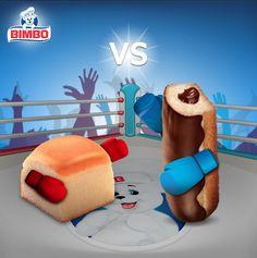Dos reyes de su categoría se enfrentan el día de hoy en nuestro #RoundDeAntojos, Colchones Bimbo VS Soy Bimbo Nito